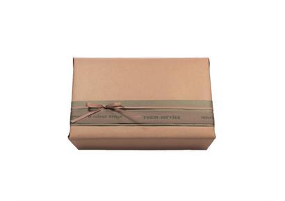Geschenksverpackung 4.0: Papier & Schleife rosé-grau